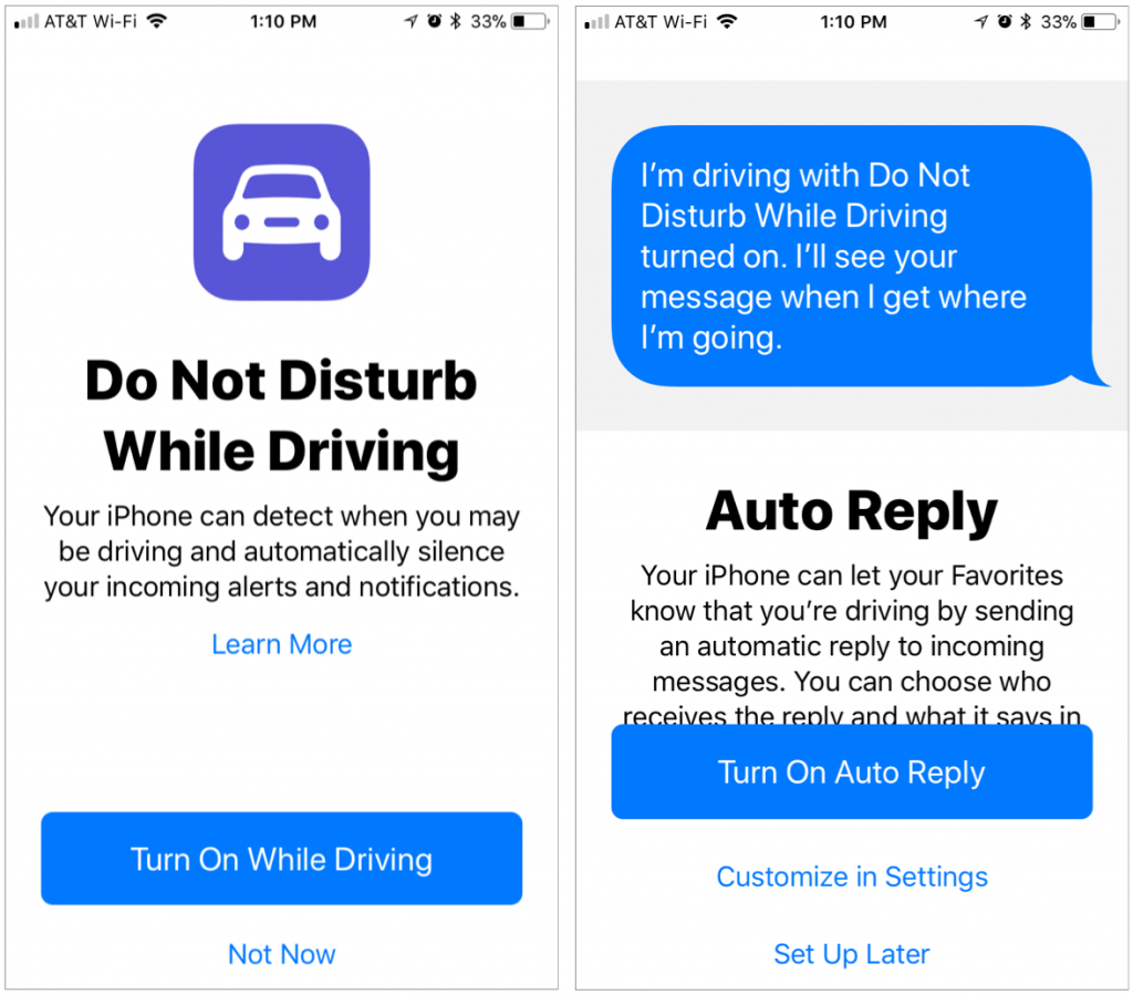 Use iOS 11's Do Not Disturb While Driving Feature – MacLife